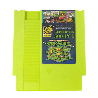 500 IN 1 Super Games Best Games Collection For Nintendo NES Classic Cartridge