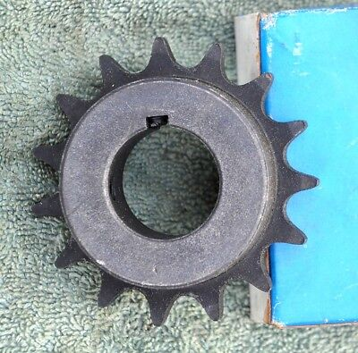 "NIB MARTIN 50BS15 ROLELR SPROCKET 50 BS 15 #50 CHAIN 15 TOOTH 7//8/"" KEYED BORE"