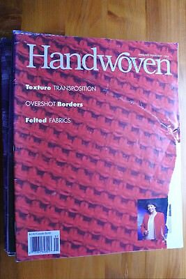 Pack 8 - 13 x Handwoven Magazines 1995 - 1999