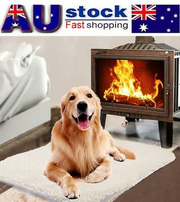 Pet Dog Cat Electric Heat Heated Self-heating Mat Heater Pad Blanket Bed No-Plug