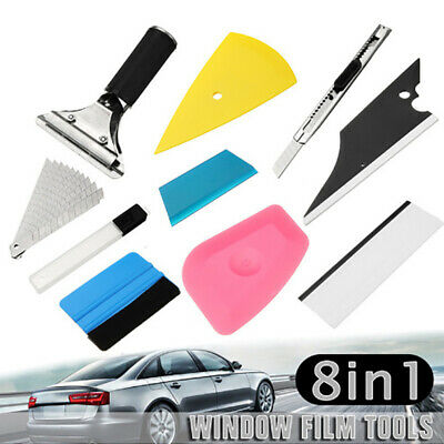 Car Vinyl Wrapping Tools Squeegee Applicator Kit Window Tint Film Install Tool