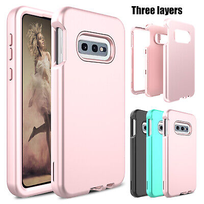 For Samsung Galaxy S10e Phone Case Shockproof Full Protective Rubber Armor Cover