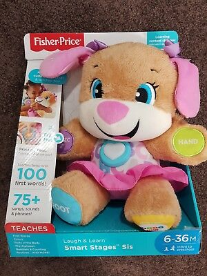 Fisher Price Smart Stages Girl Puppy