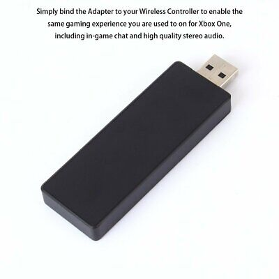 Wireless Adapter PC Receiver for Microsoft XBOX ONE Work for Windows 7/8.1/10 Sm