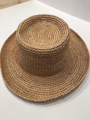a7da08656cf94 The Scala Collection Women s One Size Wide Brim Natural Straw Sun Hat w  Ribbon