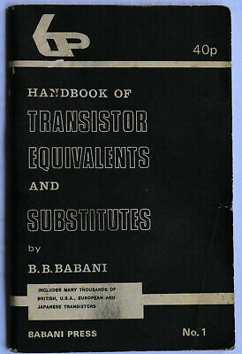 VINTAGE AUSTRALIAN RADIO  Handbook of Transistor Equivalents and Substitutes