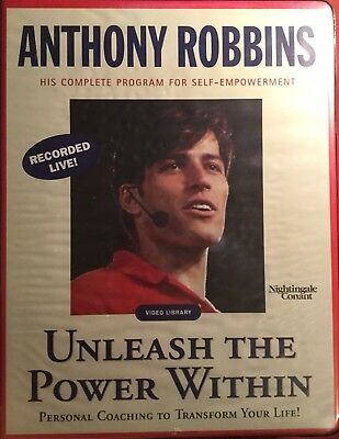 HTF NEW Anthony Robbins Unleash the Power Within CD Box Set Transform Your Life