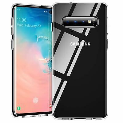For Samsung Galaxy S10, S10 Plus, S10e Cover Soft Silicone Clear Shockproof Case