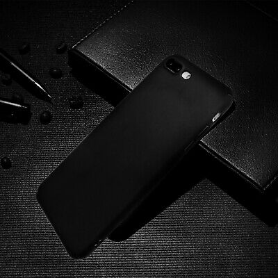 Luxury Ultra Thin Acrylic Hard Cover Back Case For Apple iPhone 7/8Plus Black