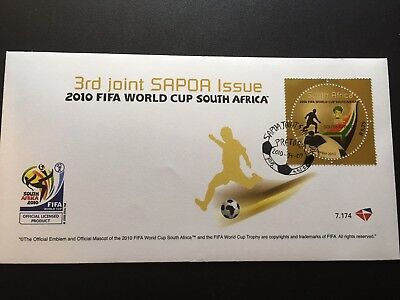 2010 FIFA World Cup South Africa FDC First Day Cover