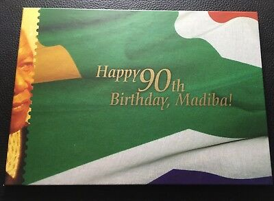 2008 South Africa Mandela 90th Birthday Booklet With Miniature Sheets MNH SCARCE