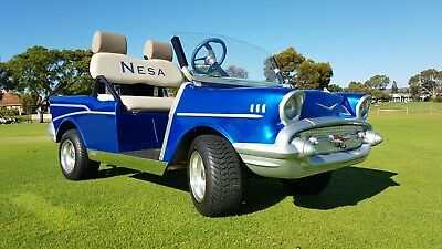 Unique 57 Chevy Golf Cart - Promotional Vehicle or Golf Resort