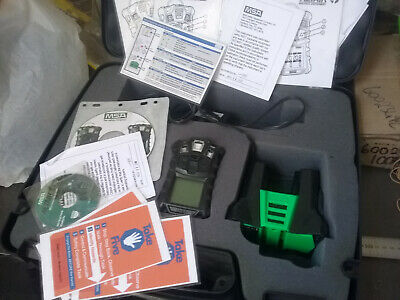 MSA ALTAIR 4 Multigas Gas Detector Complete w/ Software + Case (USED)