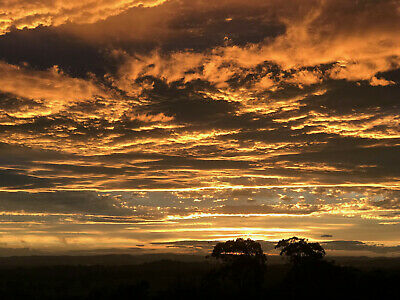 "Limited Edition Canvas Prints. ""Sunset From The Land Down Under""  Ready to Hang"