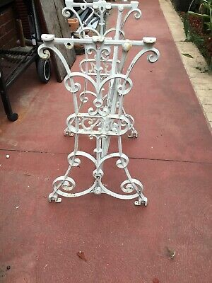 antique Cast Iron Sewing Machine Stand
