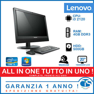 Lenovo M71z All in One PC COMPUTER INTEL i3 WINDOWS RICONDIZIONATO RIGENERATO