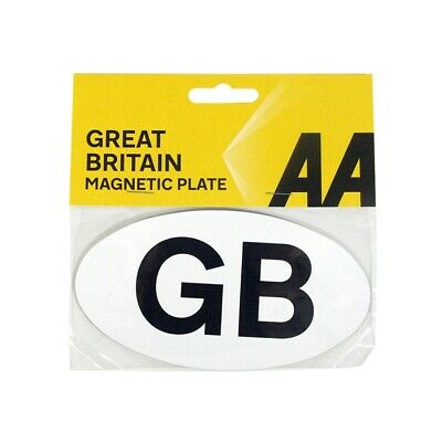 AA Official Car Essentials Great Britain GB Small Magnetic Badge Sticker Travel