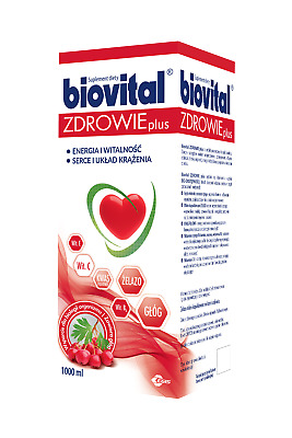 Biovital Health PLUS liquid 1000 ml Biovital Zdrowie PLUS płyn 1000 ml