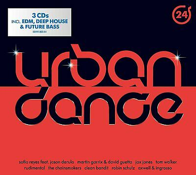 Urban Dance Vol.24 - Rudimental, The Chainsmokers, Clean Bandit  3 Cd New