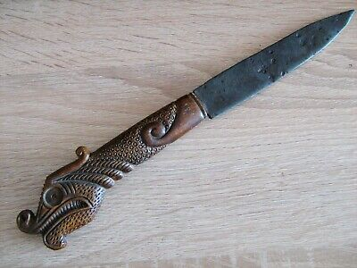 Ancient battle dagger, iron, Kievan Rus - Vikings 9 -11 century AD