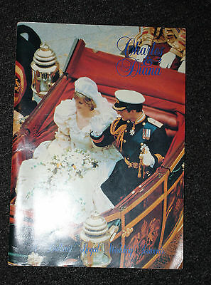 2x Comemorative Charles & Diana Book/Mags - Collectable Item