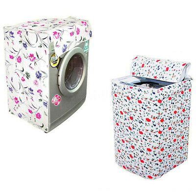 Waterproof Zippered Washing Machine Top Cover Dust Guard Dryer Dustproof P SYD