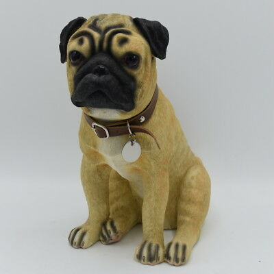 Pug Urn pet memorial casket will hold the ashes of your dog