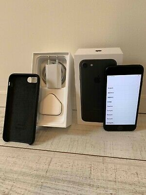 Apple Iphone 7 - 128GB black -  perfect condition