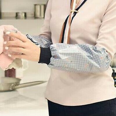 Washing Up Gloves Waterproof Long Wide Sleeve Kitchen Household Cleaning  ONE