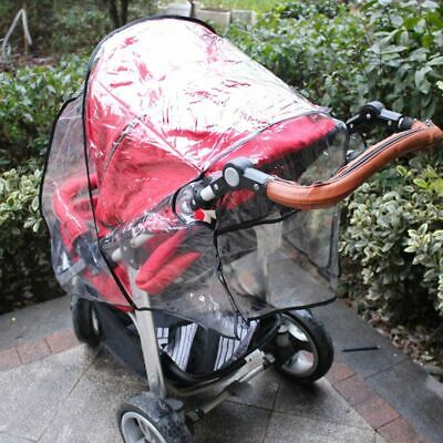 Universal Waterproof Rain Baby Car Cover Wind Dust Shield Fit Most Strollers US