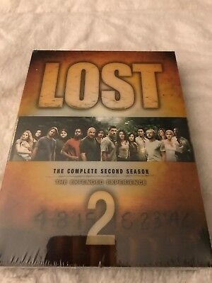 Lost - The Complete Second Season (DVD, 2006) Season 2- Brand NEW Sealed