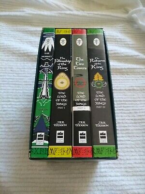 The hobbit / the lord of the rings - book set in case