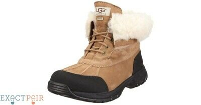Genuine Ugg Mens 8.5 Black Butte Winter Boots