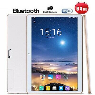 """10"""" Inch Tablet PC Android 5.1 4G+64G Octa-Core Dual SIM &Camera Phone Wifi UK"""