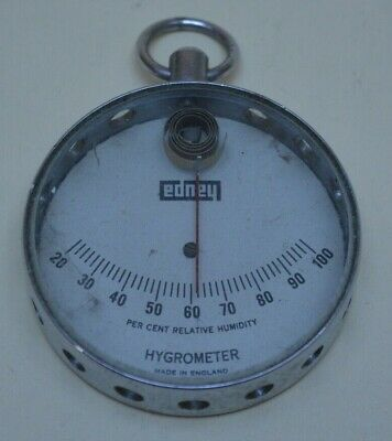 Haupt Hygrometer Pocket Size Made in England