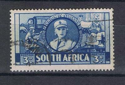 South Africa 1941 1946 4d blue Women's Services SG 91 Used