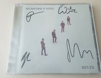 Mumford and son Delta Cd Signed And Sealed