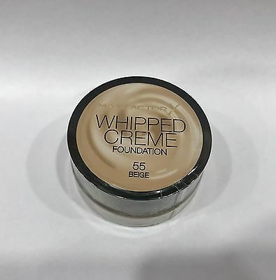 Whipped Creme Foundation. 55 Beige. Max Factor.