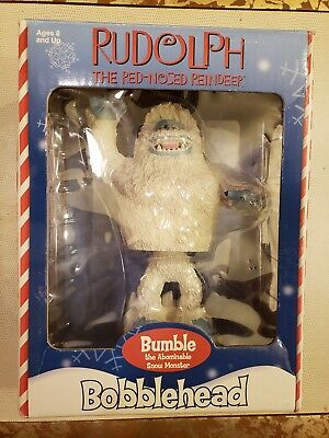 07fd87162a8a8 Rudolph The Red Nosed Reindeer Bobblehead- Bumble