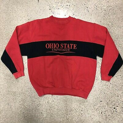big sale 6eadb 7ad58 Men s Ohio State Buckeyes VTG Stitched Crewneck Sweatshirt GIII Sports Sz XL  EUC