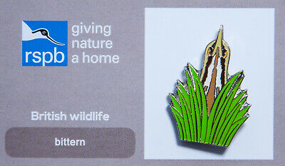 RSPB Pin Badge | bittern GNAH (00056)
