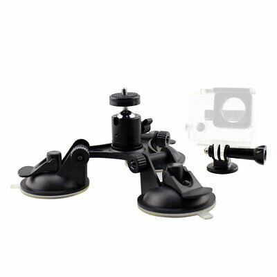 Car Windshield Triple Vacuum Suction Cup Mount Sucker for GOPRO hero3+/4/5 i