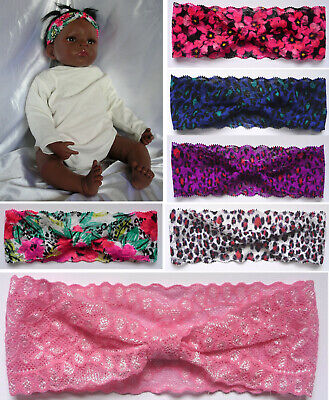 BABY / TODDLER HEADBAND - Lace Vintage Style (1 to 24 months)