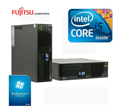 PC Fujitsu Esprimo E9900 Core i5-650 3.2GHz RAM 4 GB HDD 250 GB W7PRO
