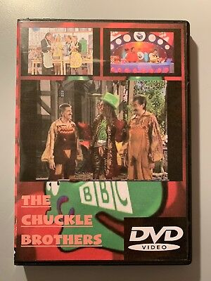 Chuckle Brothers Chucklevision Commemoration DVD incl. Mega Rare Footage