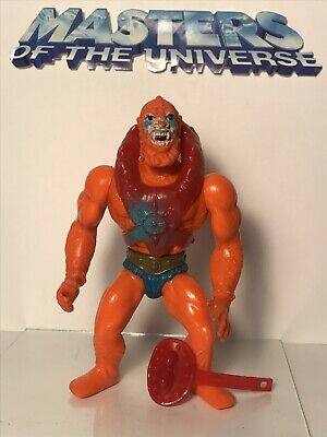 Vintage HeMan { BEAST MAN - NEAR COMPLETE } MALAYSIAN MOTU Action Figure Lot