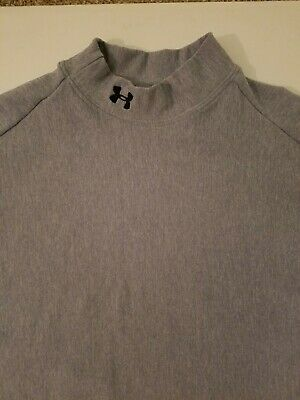 4f09d564 Women's Under Armour Cold Gear Long Sleeve Mock Neck Compression Shirt Size  XL