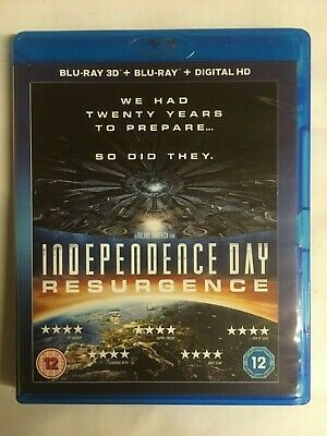 Independence Day - Resurgence - BluRay 3D+BluRay+Digital HD NEW & UNsealed W4