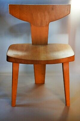 Jacob Kielland-Brandt chaise tripod moderniste design scandinave 1960