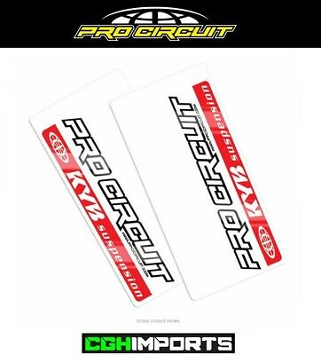 Pro Circuit Kyb Fork Decals Genuine Upper Fork Stickers Graphics Mx